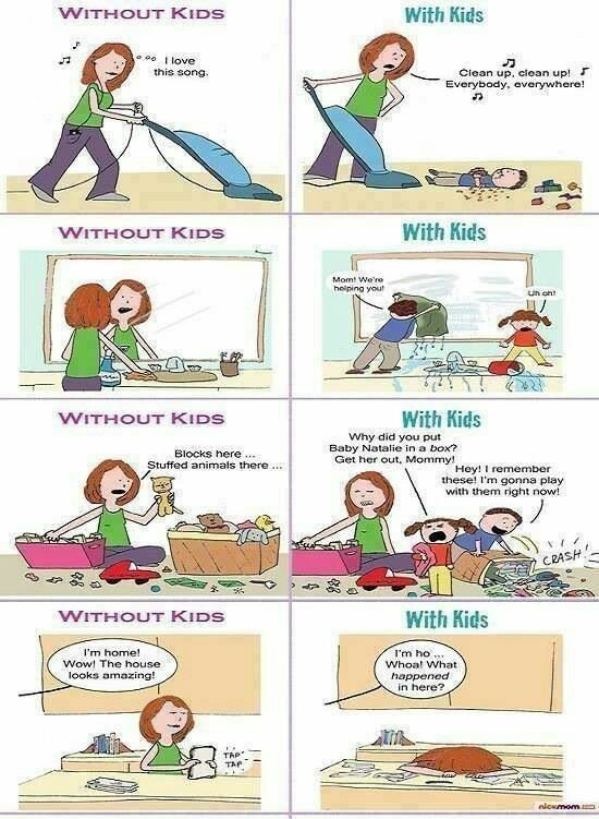 With and without kids