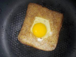 Eier in brood